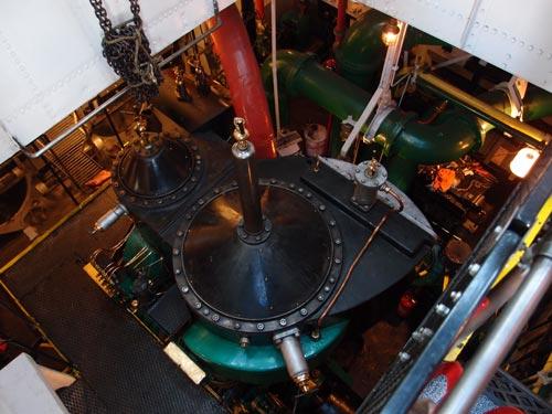 bore-maskinrummet